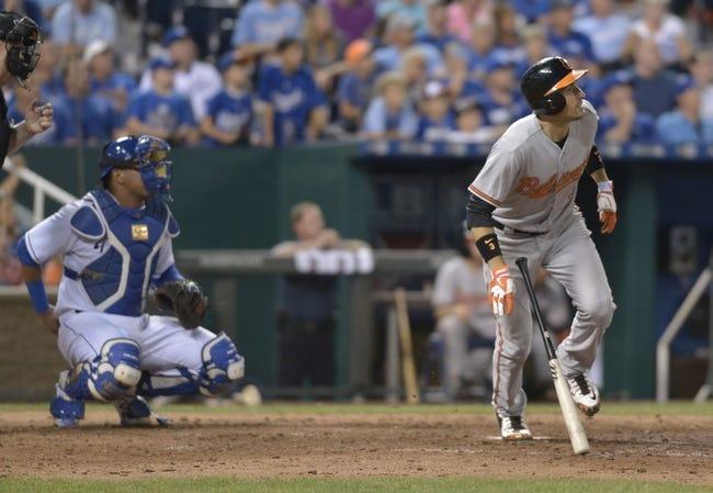 Royals vs. Orioles - 8/27/15 MLB Pick, Odds, and Prediction