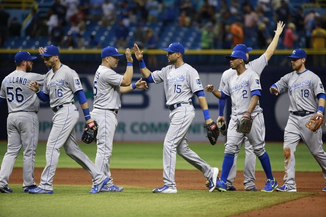 Rays vs. Royals - 8/30/15 MLB Pick, Odds, and Prediction