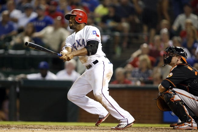 Texas Rangers vs. Baltimore Orioles - 8/29/15 MLB Pick, Odds, and Prediction