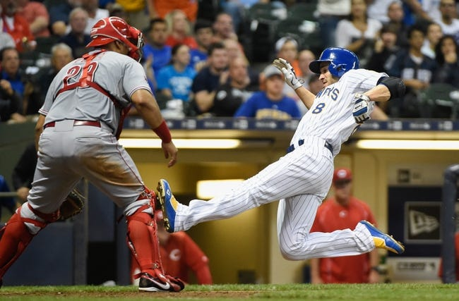 Brewers vs. Reds - 8/29/15 MLB Pick, Odds, and Prediction