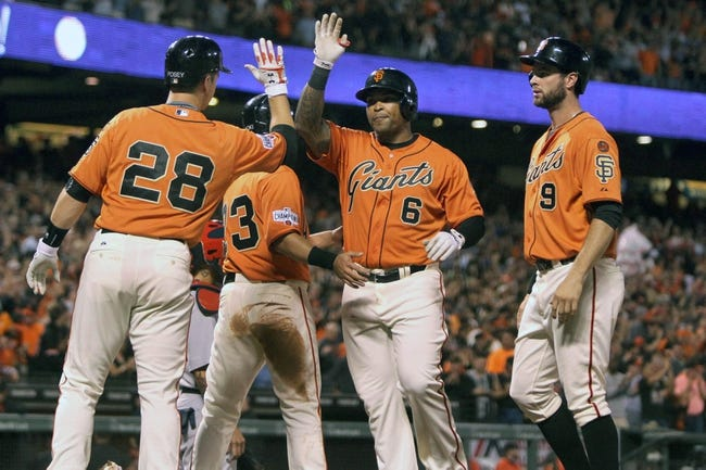 San Francisco Giants vs. St. Louis Cardinals - 8/29/15 MLB Pick, Odds, and Prediction