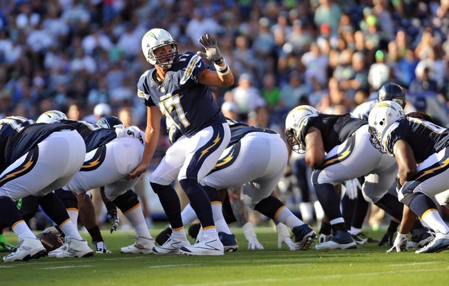 Chargers vs. Lions - 9/13/15 NFL Pick, Odds, and Prediction
