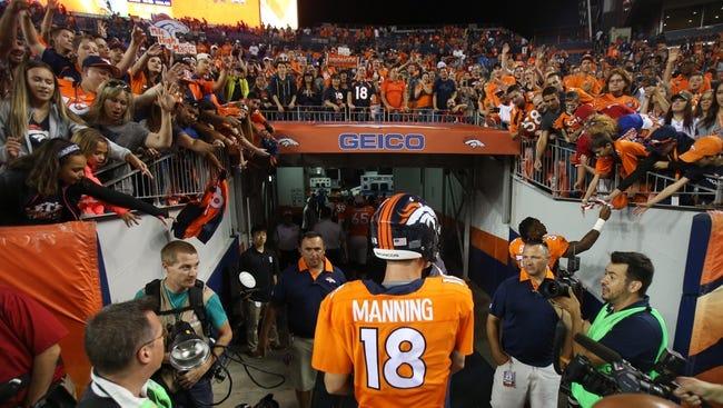 Broncos vs. Ravens - 9/13/15 NFL Pick, Odds, and Prediction