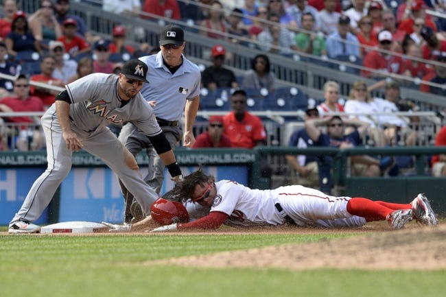Miami Marlins vs. Washington Nationals - 9/11/15 MLB Pick, Odds, and Prediction