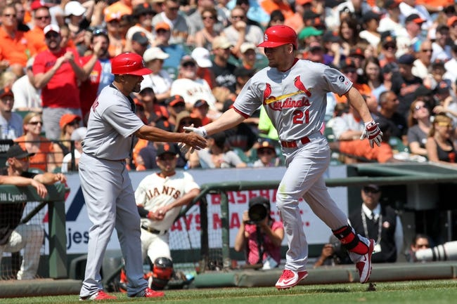 St. Louis Cardinals vs. San Francisco Giants - 6/3/16 MLB Pick, Odds, and Prediction
