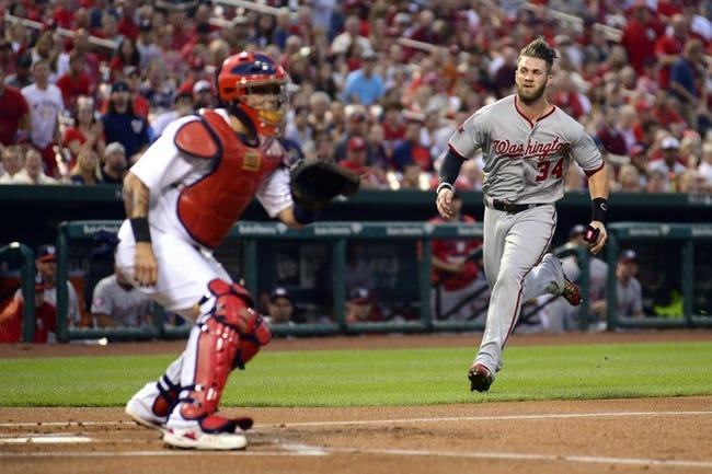 St. Louis Cardinals vs. Washington Nationals - 9/1/15 MLB Pick, Odds, and Prediction