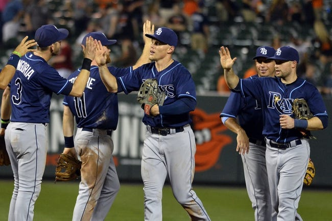 Orioles vs. Rays - 9/1/15 MLB Pick, Odds, and Prediction