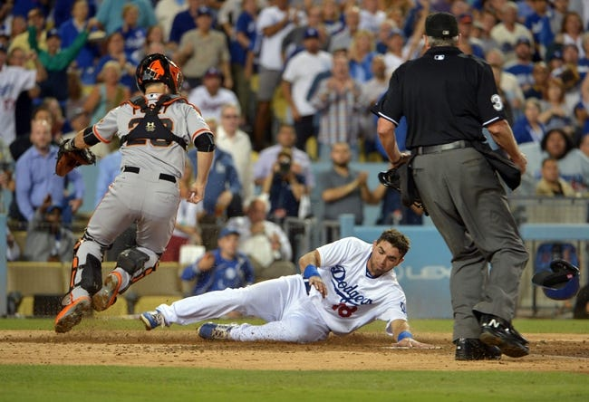 Los Angeles Dodgers vs. San Francisco Giants - 9/2/15 MLB Pick, Odds, and Prediction