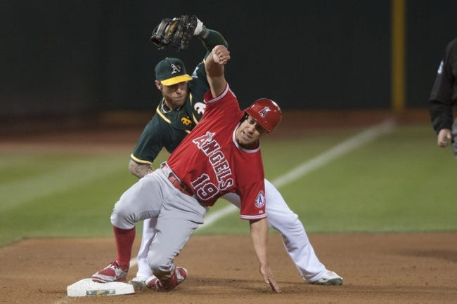 Oakland Athletics vs. Los Angeles Angels - 9/2/15 MLB Pick, Odds, and Prediction