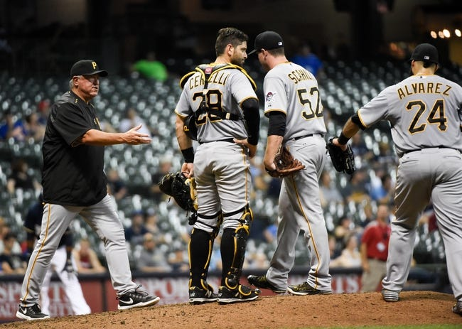 Pirates vs. Brewers - 9/10/15 MLB Pick, Odds, and Prediction