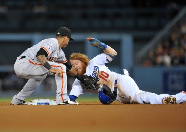 San Francisco Giants vs. Los Angeles Dodgers - 9/28/15 MLB Pick, Odds, and Prediction
