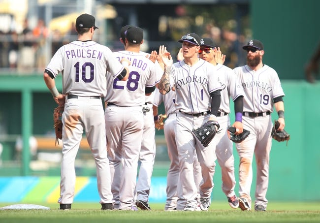 Rockies vs. Pirates - 9/21/15 MLB Pick, Odds, and Prediction