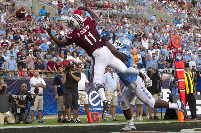 South Carolina vs. Kentucky - 9/12/15 College Football Pick, Odds, and Prediction