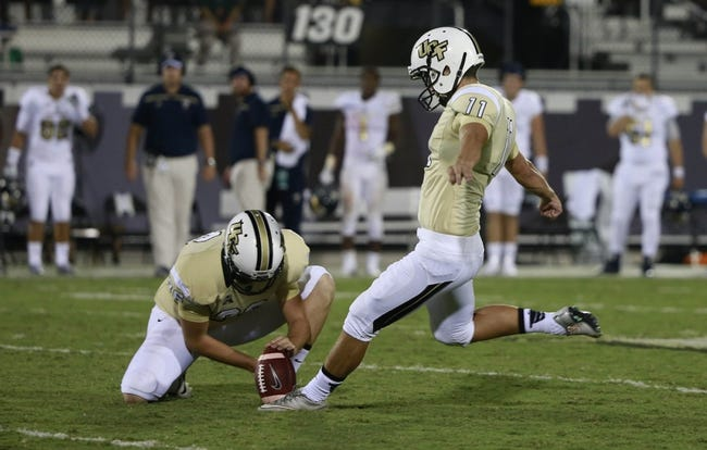 FIU Golden Panthers vs. UCF Knights - 9/24/16 College Football Pick, Odds, and Prediction
