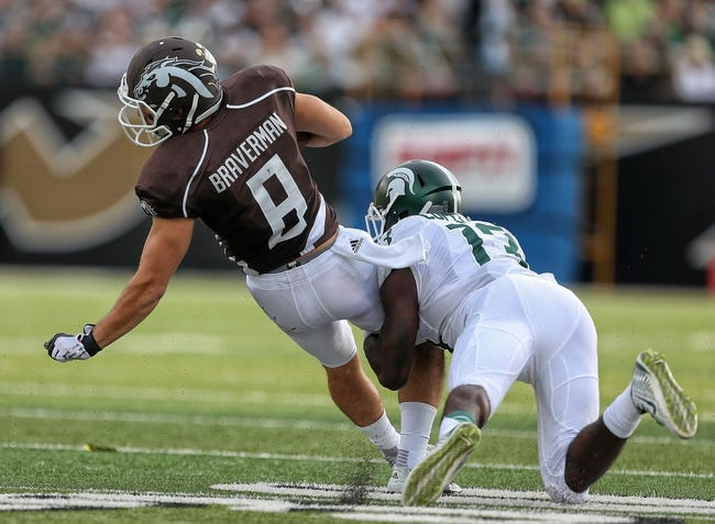 Eastern Michigan Eagles vs. Western Michigan Broncos - 10/29/15 College Football Pick, Odds, and Prediction