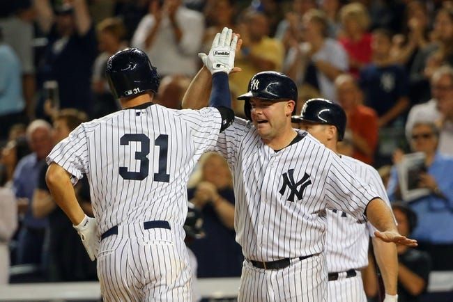 Yankees vs. Rays - 9/5/15 MLB Pick, Odds, and Prediction