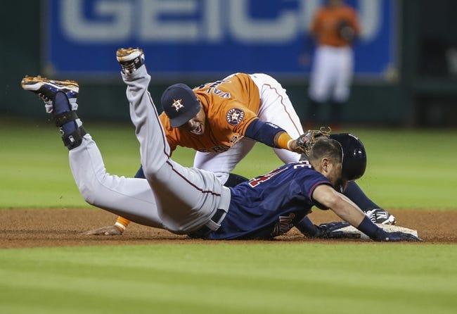 Houston Astros vs. Minnesota Twins - 9/6/15 MLB Pick, Odds, and Prediction