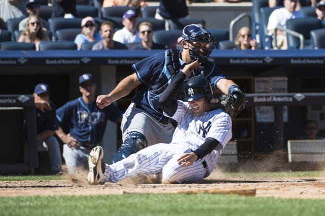 New York Yankees vs. Tampa Bay Rays - 9/6/15 MLB Pick, Odds, and Prediction