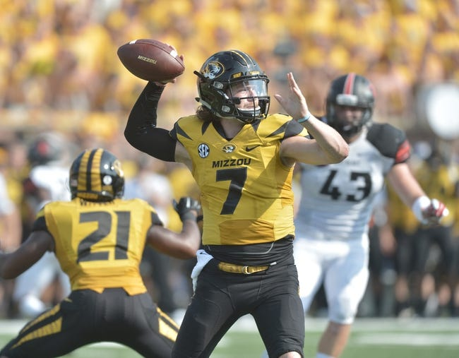 Missouri vs. UConn - 9/19/15 College Football Pick, Odds, and Prediction