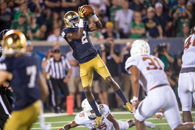 Notre Dame Fighting Irish at Texas Longhorns - 9/4/16 College Football Pick, Odds, and Prediction