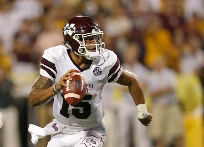 LSU at Mississippi State - 9/12/15 College Football Pick, Odds, and Prediction