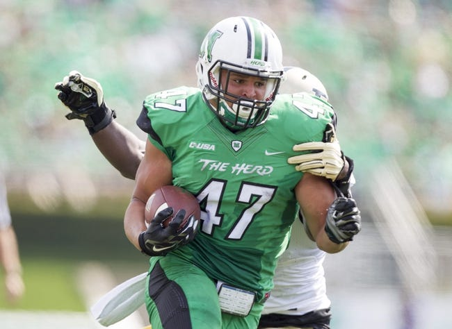 Ohio vs. Marshall  - 9/12/15 College Football Pick, Odds, and Prediction