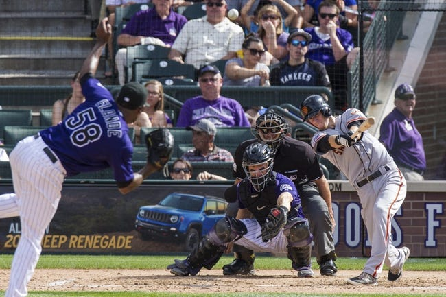 San Francisco Giants vs. Colorado Rockies - 10/3/15 MLB Pick, Odds, and Prediction