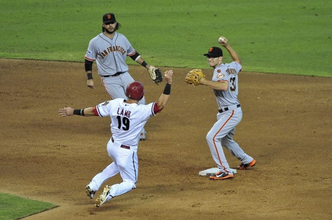 Arizona Diamondbacks vs. San Francisco Giants - 9/9/15 MLB Pick, Odds, and Prediction