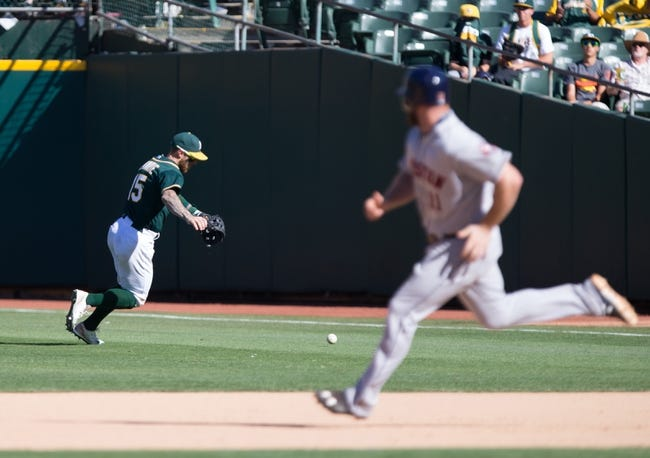 Oakland Athletics vs. Houston Astros - 9/8/15 MLB Pick, Odds, and Prediction