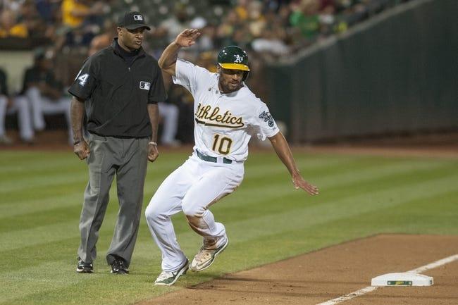 Oakland Athletics vs. Houston Astros - 9/9/15 MLB Pick, Odds, and Prediction