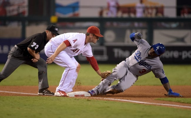 Los Angeles Angels vs. Los Angeles Dodgers - 9/9/15 MLB Pick, Odds, and Prediction