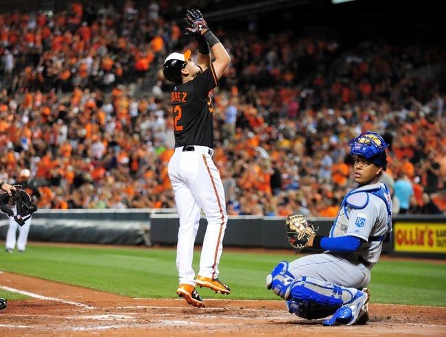 Orioles vs. Royals - 9/12/15 MLB Pick, Odds, and Prediction