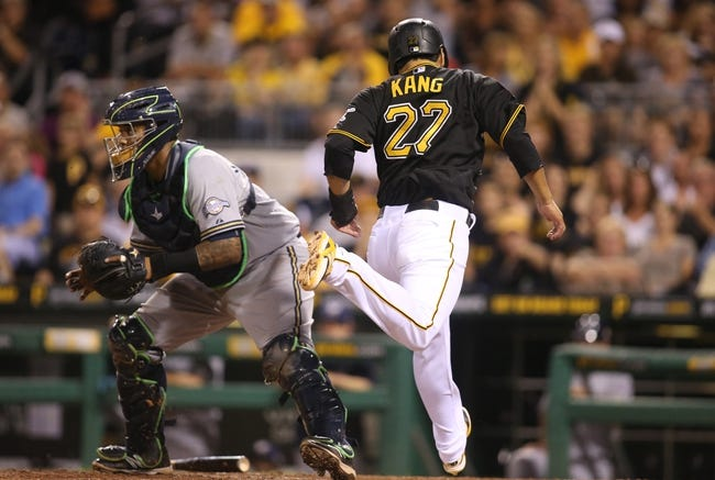 Pittsburgh Pirates vs. Milwaukee Brewers - 9/13/15 MLB Pick, Odds, and Prediction