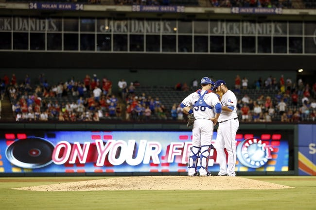 Oakland Athletics vs. Texas Rangers - 9/22/15 MLB Pick, Odds, and Prediction