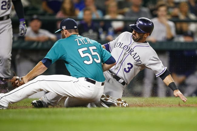 Seattle Mariners vs. Colorado Rockies - 9/12/15 MLB Pick, Odds, and Prediction