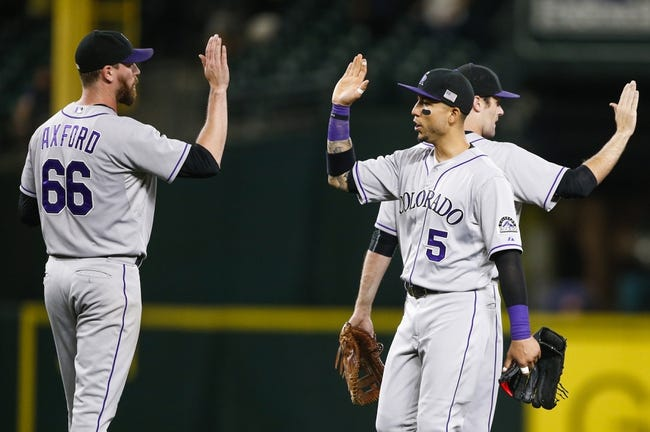 Mariners vs. Rockies - 9/13/15 MLB Pick, Odds, and Prediction