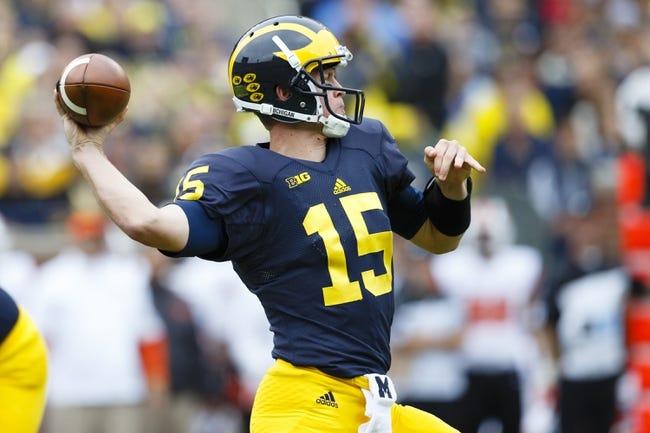 Michigan vs. UNLV - 9/19/15 College Football Pick, Odds, and Prediction