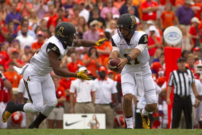Wyoming Cowboys vs. Appalachian State Mountaineers - 10/3/15 College Football Pick, Odds, and Prediction