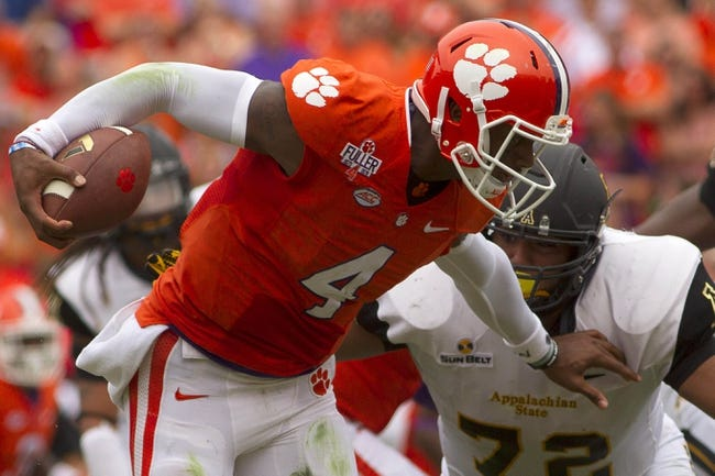 Clemson Tigers vs. Louisville Cardinals - 9/17/15 College Football Pick, Odds, and Prediction