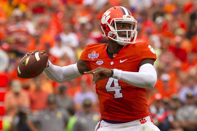 Notre Dame at Clemson - 10/3/15 College Football Pick, Odds, and Prediction