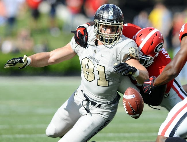 Middle Tennessee Blue Raiders vs. Vanderbilt Commodores - 10/3/15 College Football Pick, Odds, and Prediction