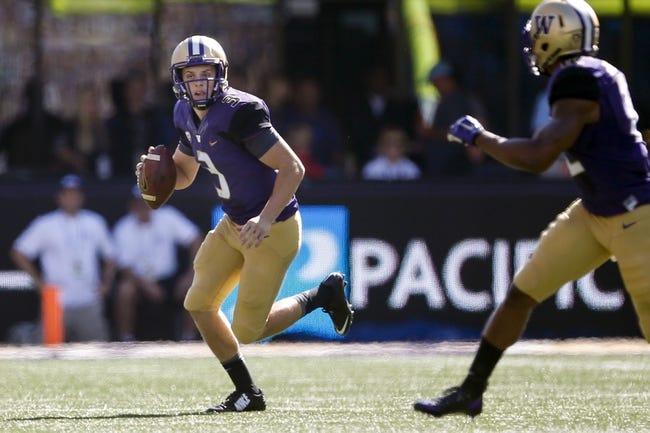 Washington vs. Utah State - 9/19/15 College Football Pick, Odds, and Prediction