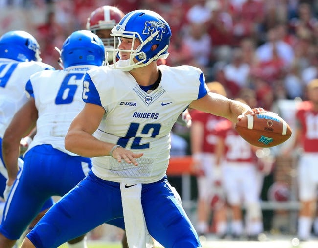 UTSA vs. Middle Tennessee - 11/28/15 College Football Pick, Odds, and Prediction