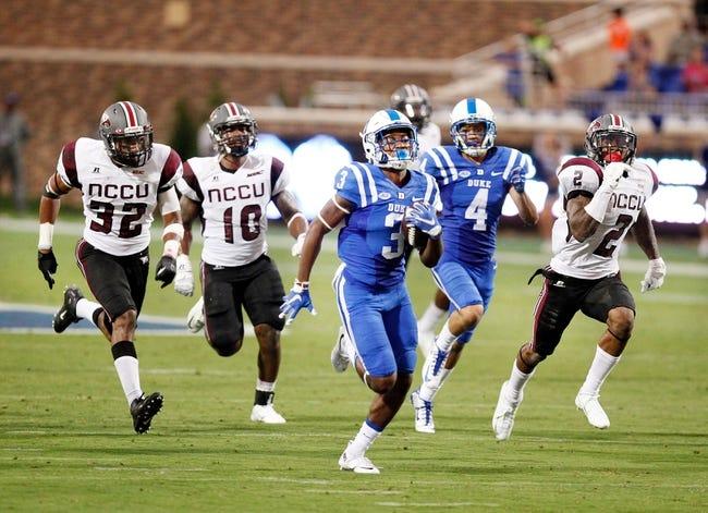 Duke Blue Devils vs. Northwestern Wildcats - 9/19/15 College Football Pick, Odds, and Prediction