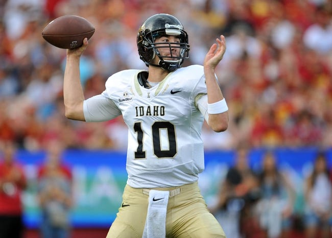 New Mexico State Aggies vs. Idaho Vandals - 10/31/15 College Football Pick, Odds, and Prediction