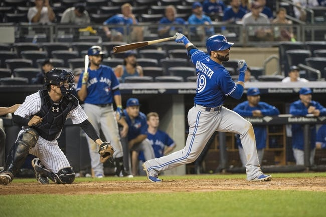 Yankees vs. Blue Jays - 9/13/15 MLB Pick, Odds, and Prediction
