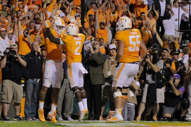 Tennessee Volunteers vs. South Carolina Gamecocks - 11/7/15 College Football Pick, Odds, and Prediction