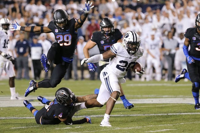 BYU Cougars at Boise State Broncos - 10/20/16 College Football Pick, Odds, and Prediction