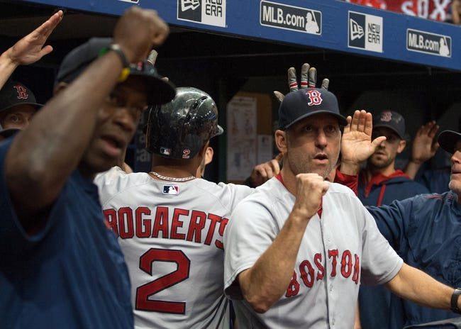Red Sox vs. Rays - 9/21/15 MLB Pick, Odds, and Prediction