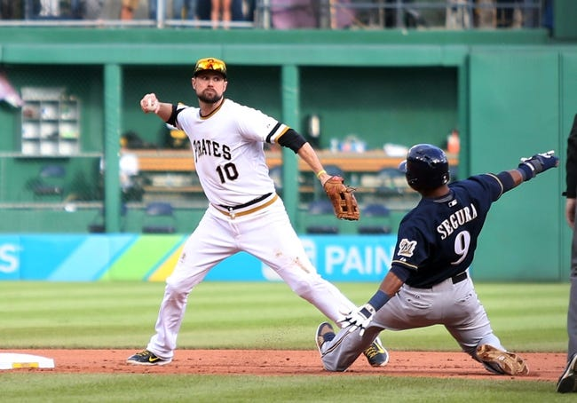 Pittsburgh Pirates vs. Milwaukee Brewers - 4/15/16 MLB Pick, Odds, and Prediction